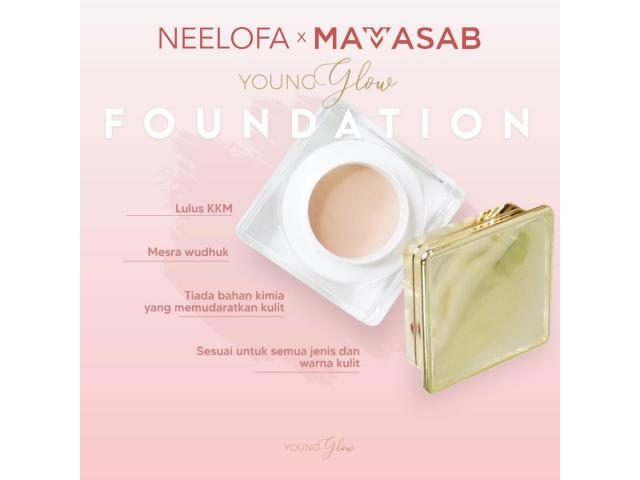 Foundation young and glow mamasab - 3/4